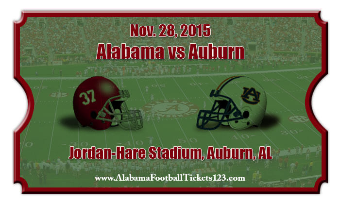 Alabama crimson tide vs auburn tigers football tickets