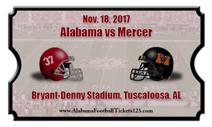 2017 Alabama Vs Mercer