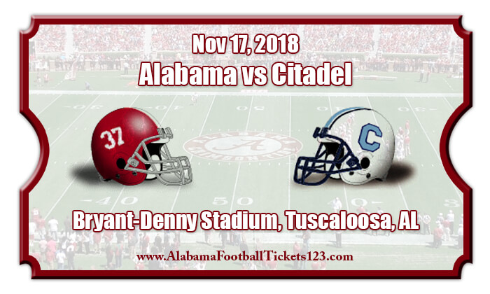2018 Alabama Vs Citadel