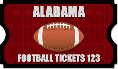 Alabama Football Tickets 123 Logo